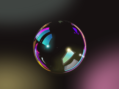 Vector Bubble Comparative - Gravit subtle illustration fireworks sketch affinity bubble transparent water material software vector gravit