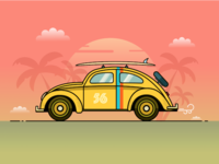 VW Beetle Illustration Tutorial for Smashing Magazine