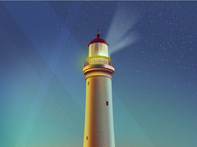 Vector Lighthouses illustration soft colours light lighthouse affinity designer vector