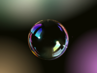 Bubble ( + attachments @x2 & showing vector lines)