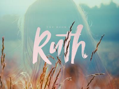 Ruth Sermon Series Art