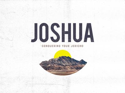 Joshua Sermon Series Art