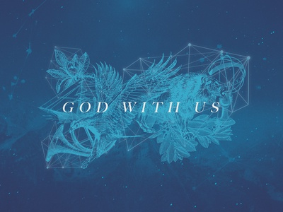 God With Us Sermon Series Art
