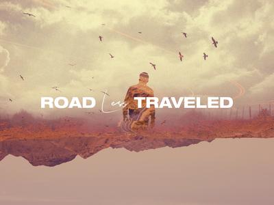 Road Less Traveled Sermon Series Art