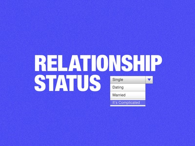 Relationship Status Sermon Series Art