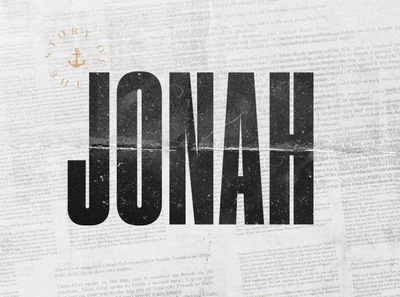 Jonah Series Design