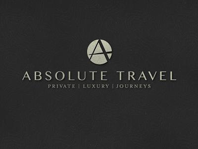 Absolute Travel Logo travel logo identity brand