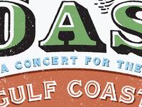 COAST Concert Poster