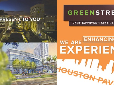 Green Street Promo Video motion graphics video promo houston