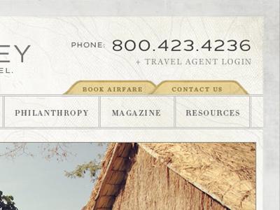 K&D Site travel classic journey safari africa vintage web design grunge