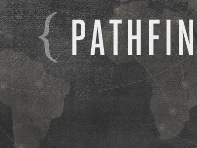 Pathfinder grunge map travel africa texture trip denim