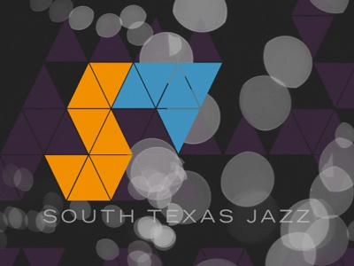 South Texas Jazz title graphic music graphics title jazz band