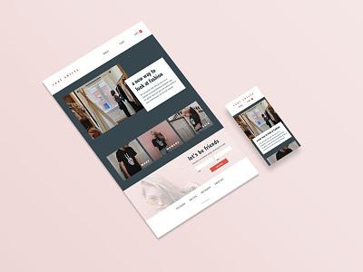 ecommerce home retail ui design ecommerce