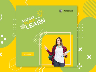 Education Banner Design
