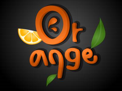 Orange vectorart illustration vector illustration vector graphics vector