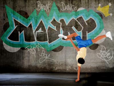 Majky graffiti streetart vectorart illustration vector illustration vector graphics vector