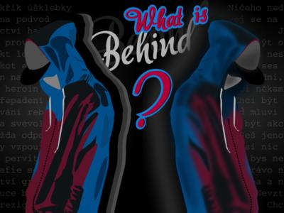 Teenager / What is behind? vectorart illustration vector illustration vector graphics vector teenager