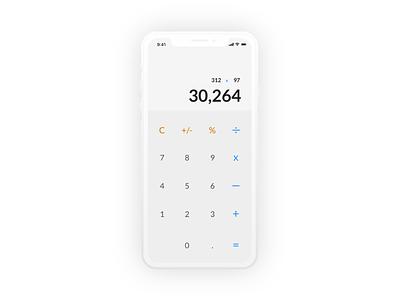 Calculator calculator mobile app mobile ui design dailyui