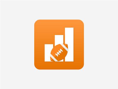 Football Stats App Icon graphic design mobile app mobile ui dailyui design