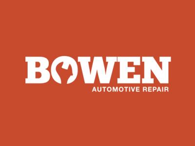 Bowen Automotive logo repair automotive wrench