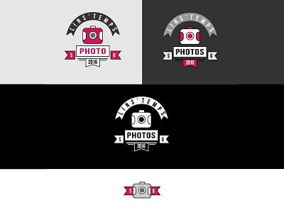 logo Lins'temps Photos branding logo design logo