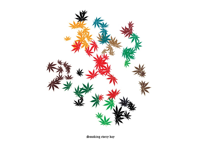 smoke weed everyday illustration