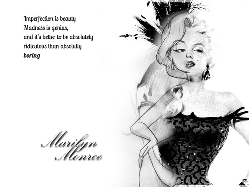 Marilyn showcase illustration