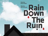 Rain Down The Ruin Poster