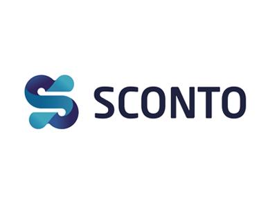 SCONTO logo logotype лого логотип