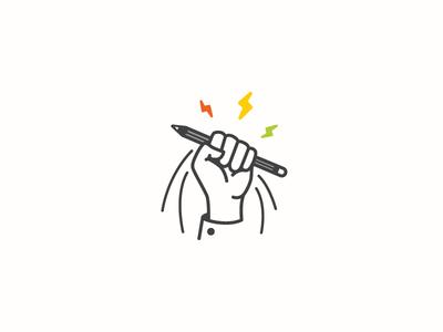 Intelligent People logo inspirations logo inspiration vector design quiz pen hand logo design logotype logo