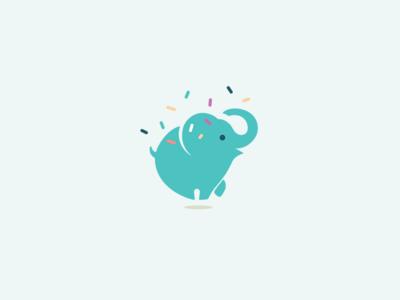 Mint Elephant  ice cream elephant logo inspiration brand identity branding logos logomachine logotype logo