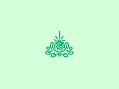 Uspenskaya Farm  logo inspiration farm green brand identity branding logo design logomachine logos logo