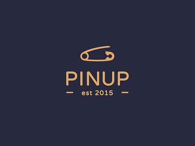 PinUp brand identity branding pin logos logo design logotype logomachine logo