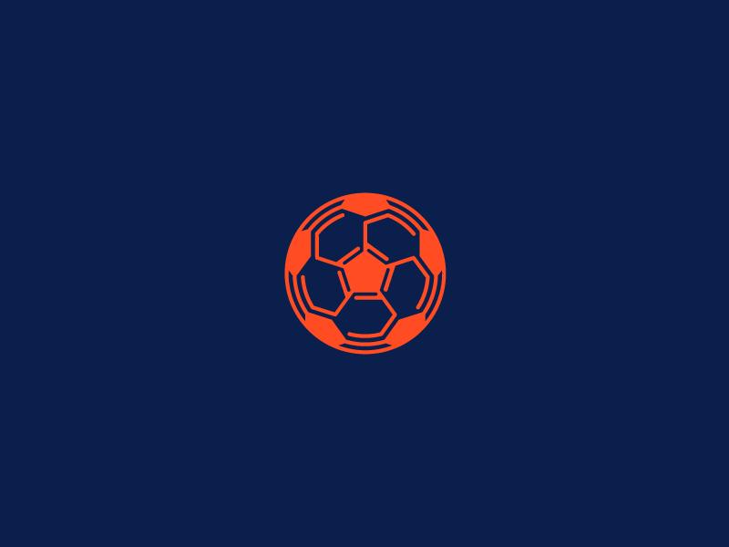Footbot russia sport ball soccer football robotic robot branding brand design logotype logo