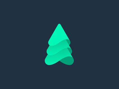 Pikhta russia site green fir design inspiration identity brandidentity branding brand logotype logo