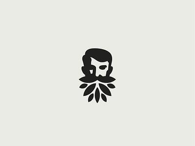 Baumbart wood black man furniture brandidentity identity branding brand logotype logo
