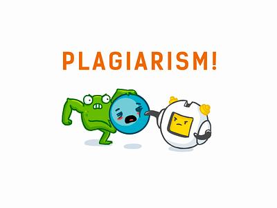 Plagiarism! Belgian clone of Logomachine site crime fake copiright