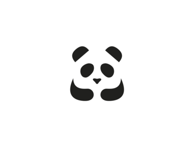 cute panda bear for an interior design studio wwwlogomachinenet