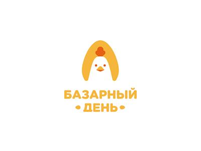 Market day nature egg farm chicken bird animal identity brandidentity branding brand logotype logo