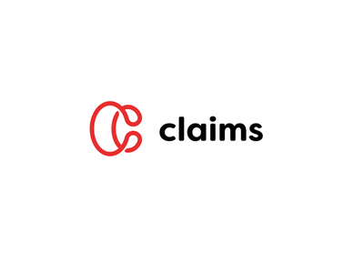Claims red minimalism font sign law identity branding brand logotype logo