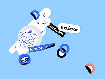 Fooobar technical it developing chat minimalistic furry coding programming brandidentity logomachine identity brand branding logotype logo