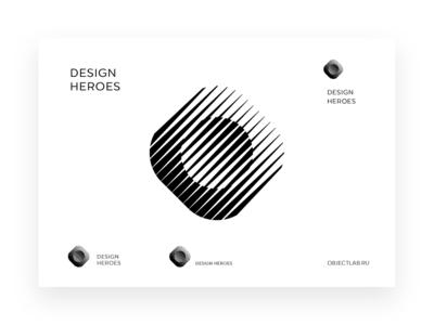 Design Heroes industrial design production working documentation device hardware black brand identity white brandidentity logomachine identity brand branding logotype logo