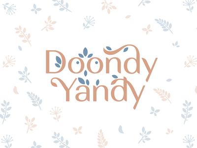 Doondy Yandy clothing children kids style mothers mom fashion brand childrens clothing brandidentity logomachine identity brand branding logotype logo