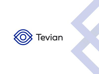Tevian artificial intelligence ai algorithm eye retail analytics research photo video brandidentity logomachine identity brand branding logotype logo