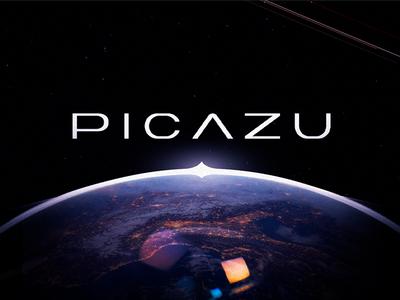 Picazu star collage printing printing products photo online service logomachine identity brand branding logotype logo