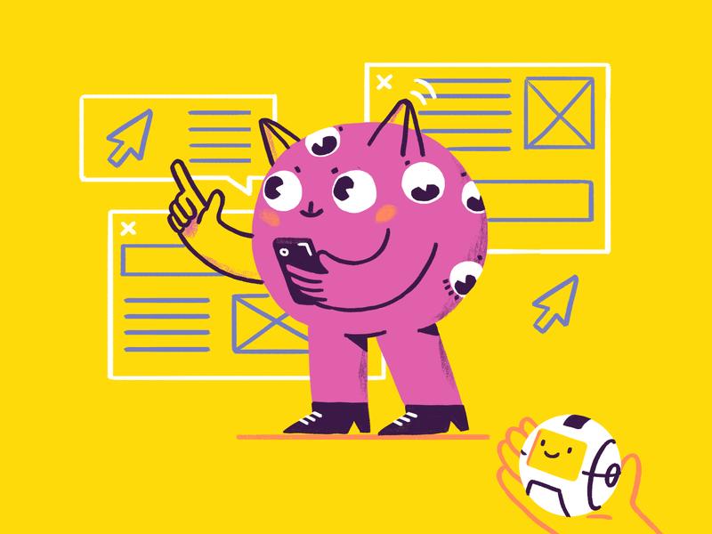 Mr Dribbble character design illustration logomachine identity brand branding logotype logo