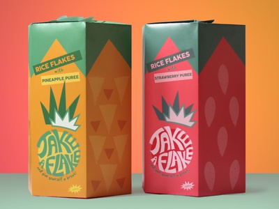Cereal Packaging cereal box package design packaging branding illustration logo design