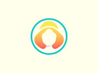 Ровеньская сдоба | Bakery cyan orange bakery design logotype logo