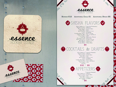 Essence Hookah Lounge logo logo graphic design branding