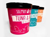 Salmon & Parsley cat food